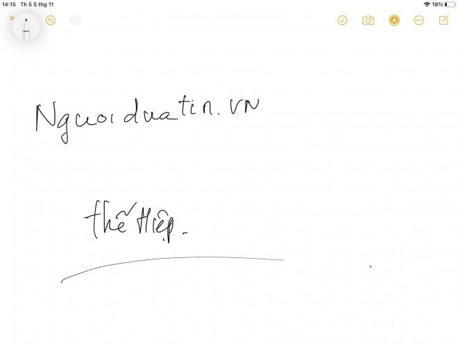 Cách biến chữ viết tay thành văn bản đánh máy trên iPad - 1
